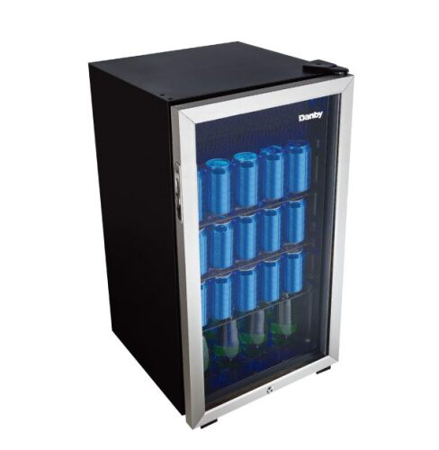 Danby 117  Can Capacity Beverage Center-  Handle Free