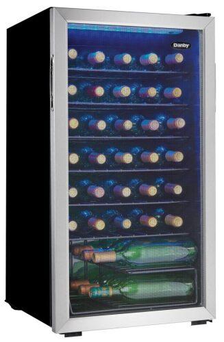 Danby 36 Bottles Storage Wine Cooler- Integrated Door Handle