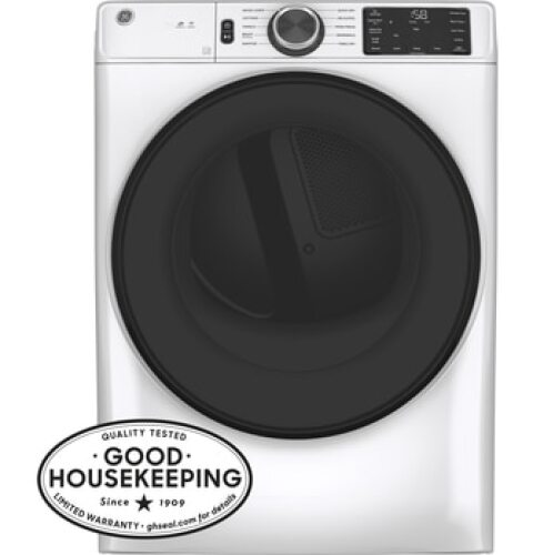 GE GE Long Vent 7.8 cu. ft. Capacity Smart Electric Dryer with Sanitize Cycle