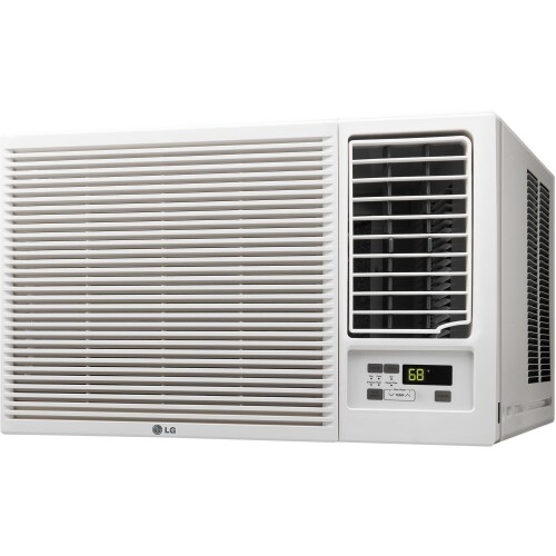 LG 18,000 BTU Window Air Conditioner/Heater- 230 V