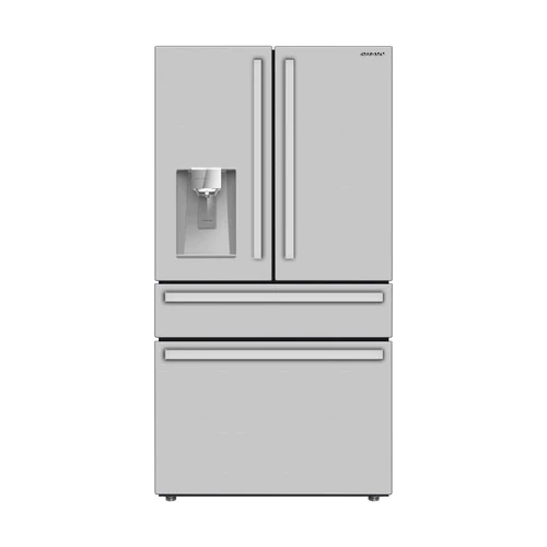 Model: SJG2254FS | Sharp Appliances French 4-Door Counter-Depth Refrigerator