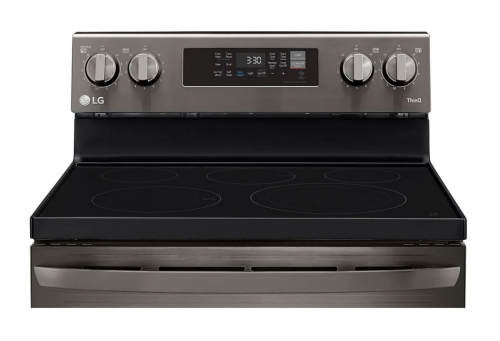 Model: LREL6323D   LG 6.3 cu. ft. Electric Convection Smart Range with AirFry