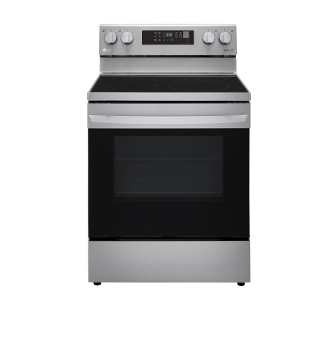 LG 6.3 cu ft. Smart Wi-Fi Enabled Fan Convection Electric Range with Air Fry & EasyClean