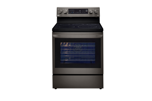LG 6.3 cu ft. Smart Wi-Fi Enabled True Convection InstaView® Electric Range with Air Fry