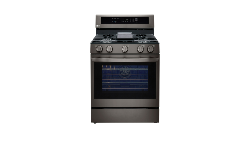 LG 5.8 cu. ft. Gas Convection Smart Range with Instaview™ and AirFry
