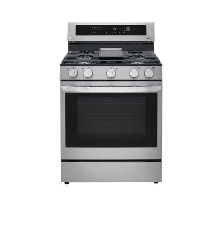 Model: LRGL5825F | LG 5.8 cu. ft. Gas Convection  Range