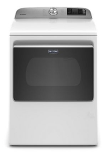 Maytag Smart Top Load Gas Dryer with Extra Power Button - 7.4 cu. ft.