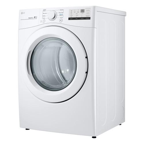 Model: DLG3401W | LG 7.4 cu.ft.  Gas Front Load Dryer