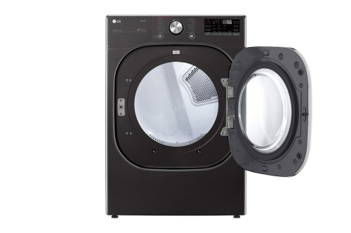 Model: DLEX4500B | LG 7.4 cu. ft. Ultra Large Front Load Electric Dryer