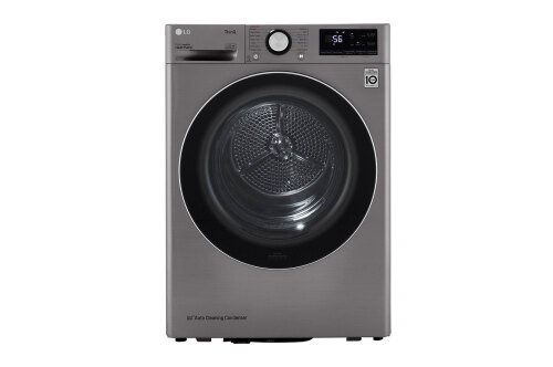 LG 4.2 cu.ft. Smart wi-fi Enabled Compact Front Load Dryer with Dual Inverter HeatPump™ Technology