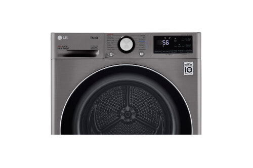 Model: DLHC1455V | LG 4.2 cu.ft. Smart wi-fi Enabled Compact Front Load Dryer with Dual Inverter HeatPump™ Technology