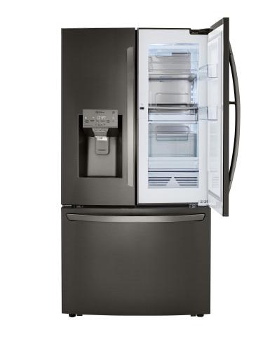 Model: LRFDC2406D | LG 24 cu. ft. Smart wi-fi Enabled Door-in-Door® Counter-Depth Refrigerator with Craft Ice™ Maker