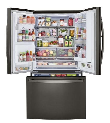 Model: LRFDS3016D | LG 30 cu. ft. Smart wi-fi Enabled Door-in-Door® Refrigerator with Craft Ice™ Maker