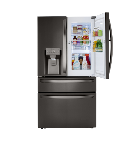 Model: LRMDC2306D | LG 23 cu. ft. Smart Wi-Fi Enabled Counter-Depth Refrigerator with Craft Ice™ Maker