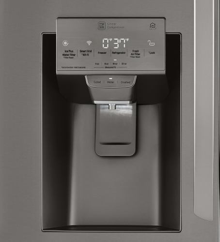 Model: LRMDS3006D | LG 30 cu. ft. Smart wi-fi Enabled Refrigerator with Craft Ice™ Maker