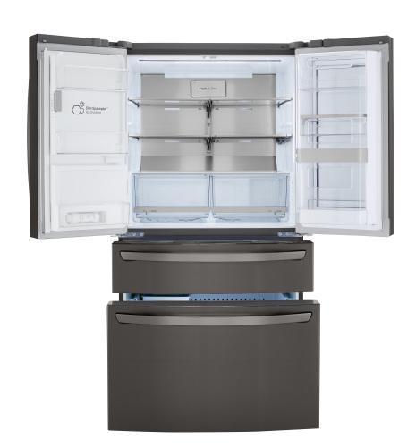 Model: LRMVC2306D | LG 23 cu. ft. Smart wi-fi Enabled InstaView™ Door-in-Door® Counter-Depth Refrigerator with Craft Ice™ Maker