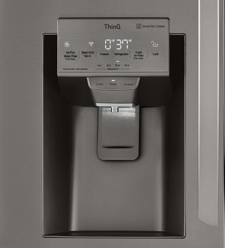 Model: LRMVS3006D | LG 4-Door French Door Refrigerator
