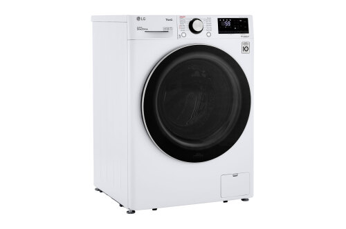 Model: WM1455HWA | LG 2.4 cu.ft. Smart wi-fi Enabled Compact Front Load Washer with Built-In Intelligence