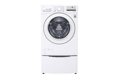 Model: WM3400CW | LG 4.5 cu.ft. Front Load Washer