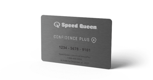 Model: CONFIDENCE PLUS | Speed Queen 3 Yr Confidence Plus Extended Warranty Card
