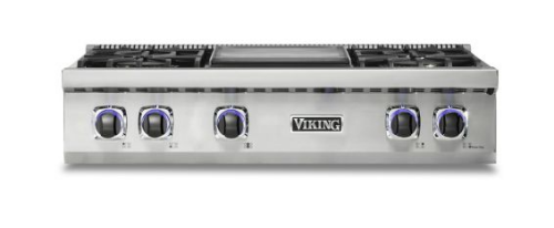"Viking 36"" 7 Series LP Gas Rangetop - VRT"