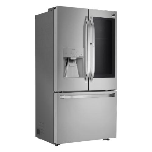 Model: SRFVC2406S | LG 23.5 Cubic Foot French Door Refrigerator