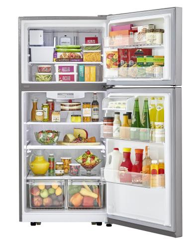 Model: LTCS20030S | LG 20 cu. ft. Top Freezer Refrigerator