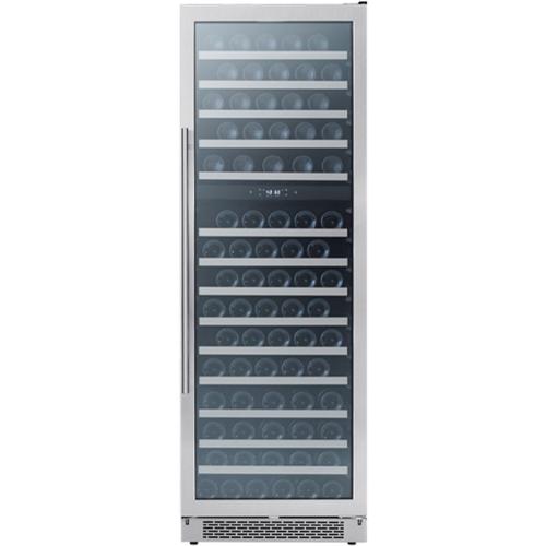 "Zephyr 24"" Dual Zone Presrv Wine cooler"