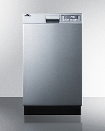 "Summit 18"" Wide Built-In Dishwasher"