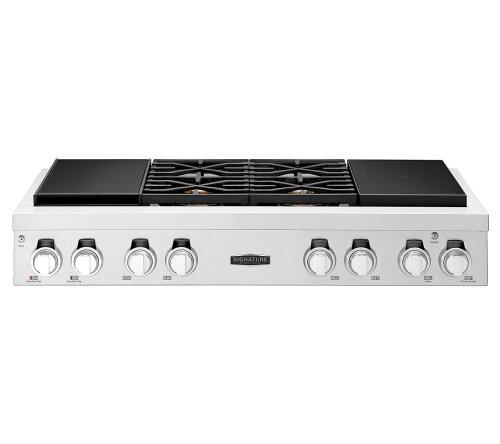 "Signature Kitchen Suite by LG  48"" Duel Fuel Rangetop"