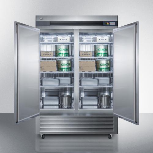 Model: SCFF497 | Summit 49 Cu.Ft. Reach-In All-Freezer