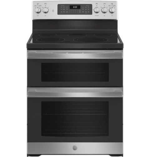 """GE GE® 30"""" Free-Standing Electric Double Oven Convection Range"""