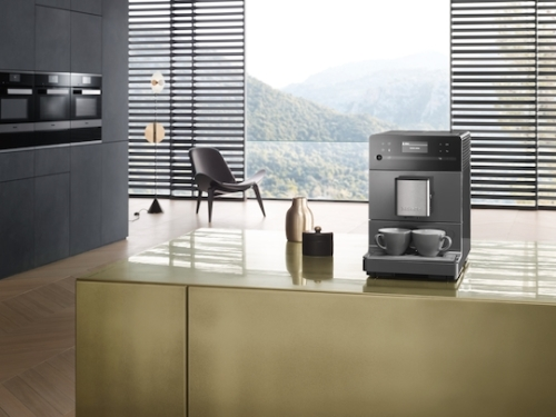 Model: 29530010USA | Miele CM 5300 GRY Countertop Coffee System