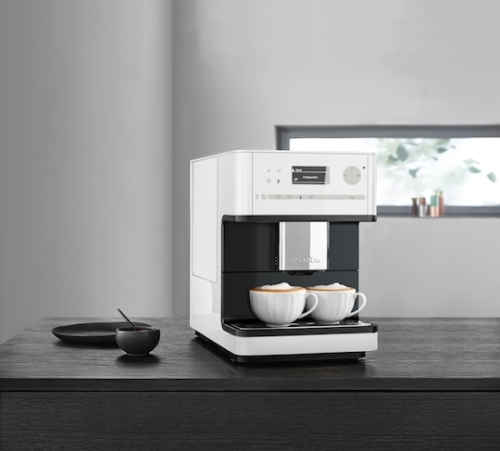 Model: 29615010USA | Miele CM 6150 WH Countertop coffee machine