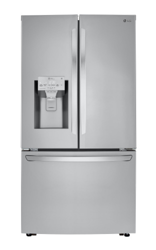 LG 24 cu. ft. Smart wi-fi Enabled Counter-Depth Refrigerator with Craft Ice™ Maker