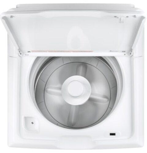 Model: GTW220ACKWW | GE GE 3.8 cu. ft. capacity stainless steel basket