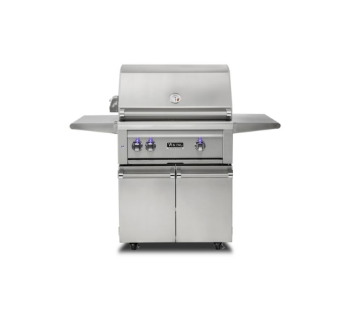 """Viking 30""""W. Freestanding Grill with ProSear Burner and Rotisserie"""