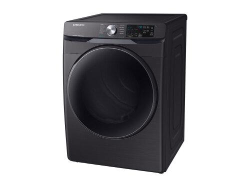 Model: DVE45R6100V | Samsung Front Load Electric Dryer with Steam Sanitize+