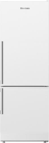 "Blomberg 24"" Counter Depth 11.43 cu. ft. Bottom Freezer Refrigerator White"
