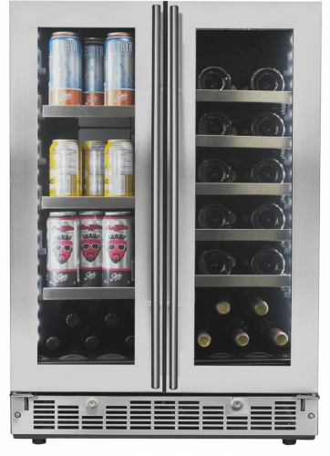 "Danby Silhouette 24"" French Door Beverage Center"