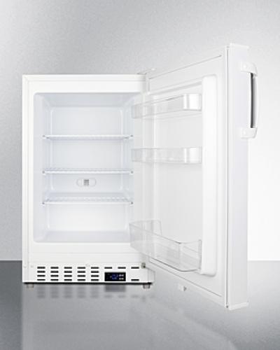 "Model: ALFZ36 | Summit 20"" Wide Built-In All-Freezer, ADA Compliant"