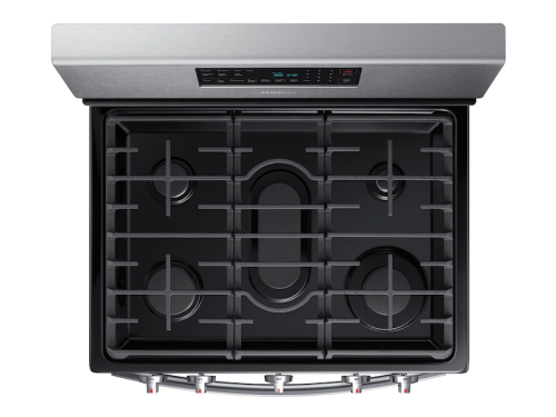 Model: NX58T7511SS | Samsung 5.8 cu. ft. Freestanding Gas Range