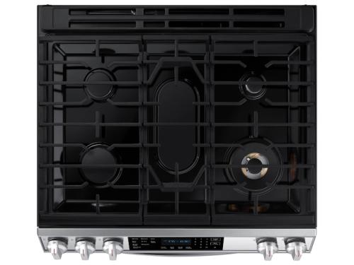 Model: NX60T8511SS | Samsung 6.0 cu. ft. Slide-in Gas Range