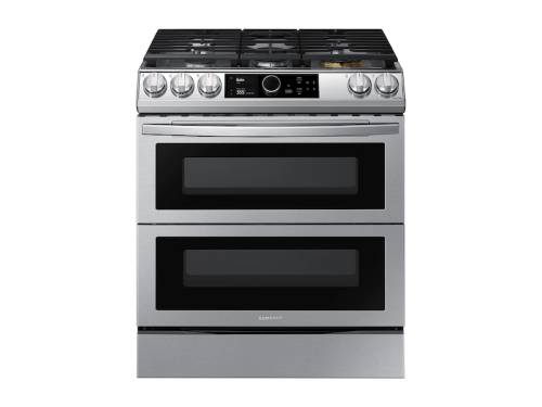 Samsung 6.0 cu. ft. Flex Duo™ Front Control Slide-in Gas Range