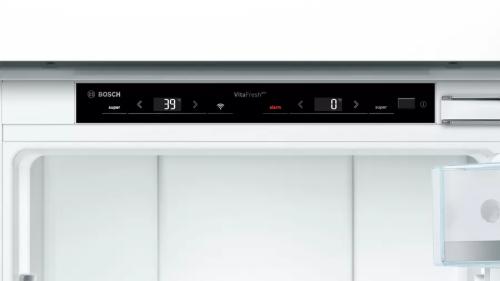 "Model: B09IB91NSP   Bosch 24"" 800 Series Built-in Bottom Freezer Refrigerator"