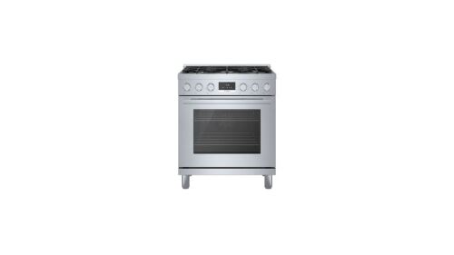 "Model: HDS8055U | Bosch 800 Series 30""  Dual Fuel Range"