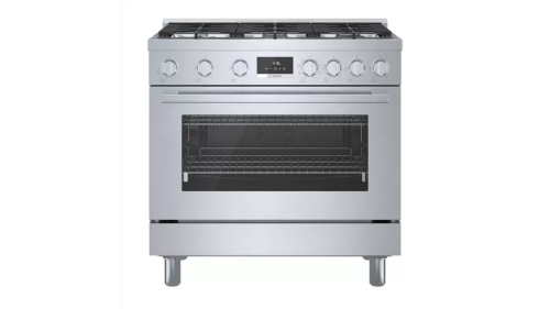 "Bosch 800 Series 36"" Wide  Dual Fuel Freestanding Range"