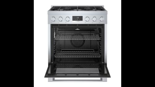 "Model: HGS8055UC | Bosch 800 Series 30"" Gas Range"