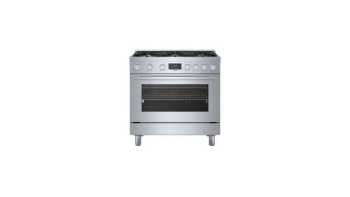 Bosch 800 Series Gas Freestanding Range36'' Stainless Steel