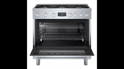 "Model: HGS8655UC | Bosch 800 Series 36"" Gas  Range"